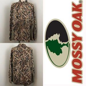 Mossy Oak Blades Men 1/4 Zip Up